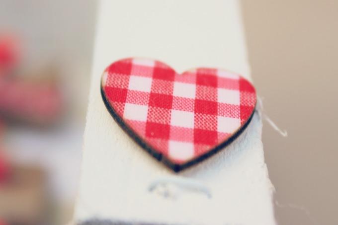 diy calenadrio de adviento corazon